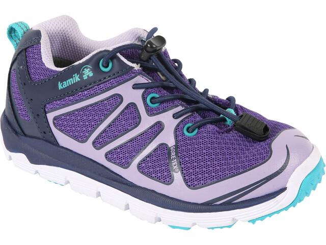 Kamik Juniors Best Low GTX Shoes Purple/Lilac-Mauve